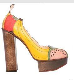 Food + Shoes = Epic.