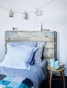 DIY: Fra europapalle til smuk sengegavl | Femina.dk