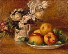 Pierre-Auguste Renoir - Apples and Flowers