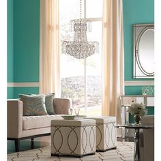 "Moira 19"" Wide Crystal Chandelier - #4J468 