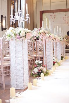 Wedding Walkway, Wedding Church Aisle, Church Wedding Decorations, Rooftop Wedding, Ceremony Decorations, Wedding Centerpieces, Wedding Table, Wedding Ceremony, Wedding Colors