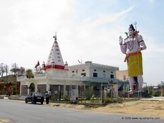 Shiva Temple  Shiva Temple is a well-known temple for pilgrims and is located at a distance of 25 Kms from Pathankot. The temple is devoted to Hindu God Shiva and is very famous for the idols of Lord Shiva and Goddess Parvati. It is a holy destination to visit.