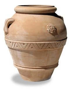 We are the exclusive distributor of classic Italian Galestro clay planters and pots by Terrecotte San Rocco. Urn Vase, Vases, Honeysuckle Flower, Bamboo Fence, Exotic Plants, Terracotta Pots, Garden Design, Planter Pots, Pottery