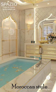تصاميم حمامات داخل غرف النوم 2018