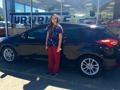 Turnpike Ford wishes to thank Arianna Stepp for allowing us the opportunity to assist her with her automotive needs 😊