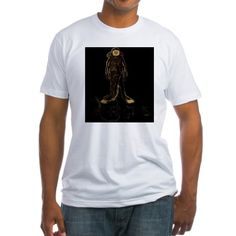 Fitted Diver Tee on CafePress.com
