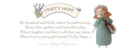 poem from VERITY HOPE dolls