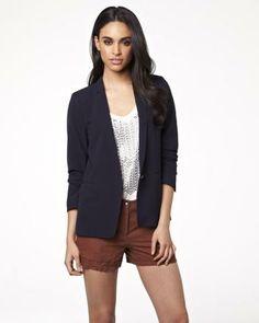 Fitted urban blazer RW&CO. Spring 2014, Spring Summer, Summer Outfits, Rocks, Urban, Blazer, My Style, Board, Fitness