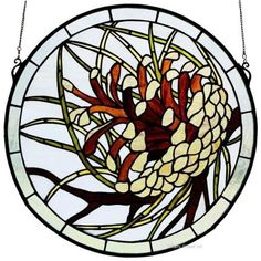 Awesome Stained Glass Pinecone