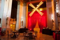 Moulin Rouge Themed Event #corporateevent #eventtheme