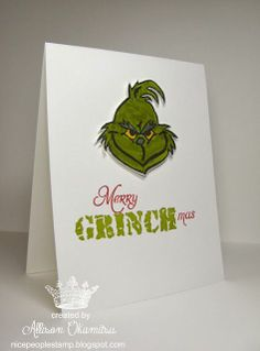 Merry Grinchmas - found on stampinup.com