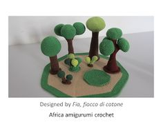 Amigurumi scene - I've never seen anything like this before, it's really7 exciting
