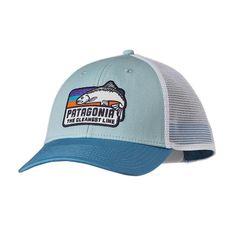 Patagonia TCL Fish LoPro Trucker Hat - Tubular Blue TUBL