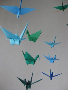 Origami Crane Mobile - Etsy