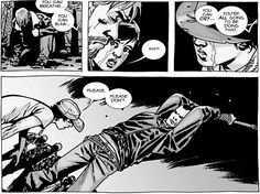 The Walking Dead comics. When Glenn gets his head smashed by Negan. Issue 100