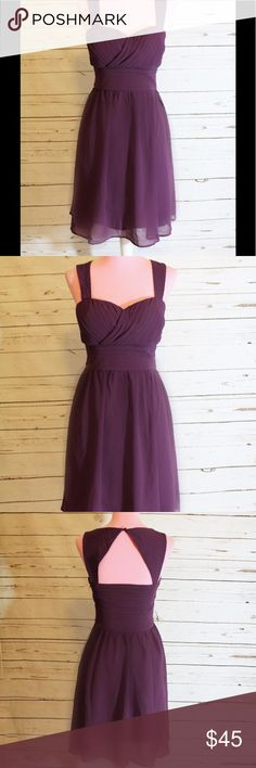 NWOT Modcloth Purple Sleeveless Cocktail Dress This is a new without tags open back Sleeveless cocktail dress from Modcloth. Purple Dress. Extra Small / XS Modcloth Dresses