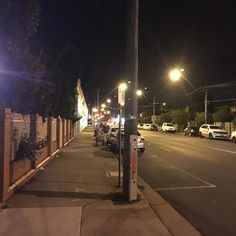 #100happydays #day81 Too busy working to take a photo so here's the walk home. #Brunswick #nightwalk
