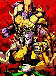 Dio Brandon y The World (JoJo's Bizarre Adventure Part. 3)