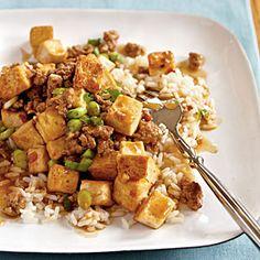 Mao Pao Tofu. (with ground pork). Really tasty!