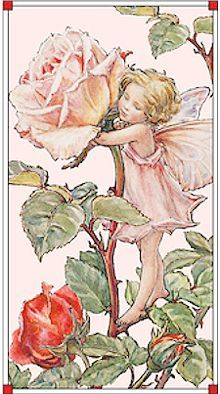 Sweet Fairy Panel, SOLD BY THE PANEL, Michael Miller, Cicely Mary Barker Flower Fairies, Ladybutton Fabrics