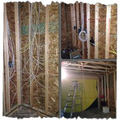 So many wires to build a garage! Building A Garage, Home Appliances, Room, Furniture, Instagram, Home Decor, House Appliances, Bedroom, Decoration Home