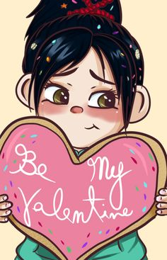 Be my Vanellope by AnnPoison on deviantART