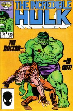 """It's the final showdown between the Incredible Hulk and Banner's Hulkbusters. And Doc Samson is caught in the middle. """"THE INCREDIBLE HULK # 320 series)""""Marvel Comics - 1986 -. Marvel Comics Superheroes, Hulk Marvel, Marvel Art, A Comics, Marvel Characters, Captain Marvel, Captain America, Superhero Series, Marvel Series"""