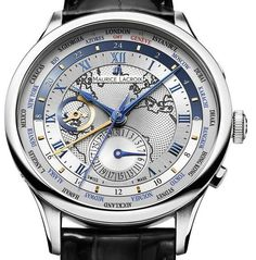 Maurice Lacroix Masterpiece Worldtimer #MauriceLacroix Swiss Watchmakers  #horlogerie @calibrelondon