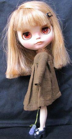 Erika Nomad Custom Blythe OOAK Doll
