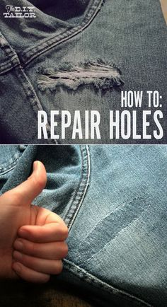 Read on these clothing repair tips to fix your favorite garments that you love to wear most. These 31 DIY hacks for fixing ruined clothes will help you a lot. Diy Hanging Shelves, Floating Shelves Diy, Mason Jar Crafts, Mason Jar Diy, Diy Hacks, Diy Projects To Try, Sewing Projects, Clothing Hacks, Boro
