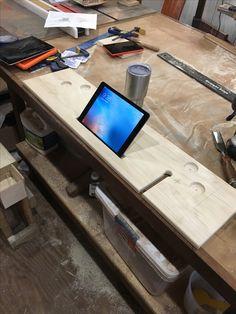 Wooden IPad Holder Bathtub / IPad Stand Bathtub   Premium TUBLET Walnut    277 | Tech | Pinterest | Ipad Holders, Bathtubs And Wood Projects