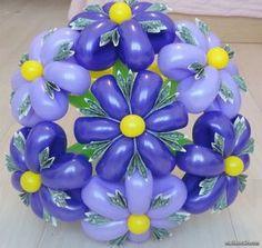 Букет цветов из шаров в мужском стиле. Свадьбы, юбилеи, торжества ...