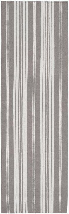 Farmhouse Stripes FAR-7003 Hand Woven 100% Wool Surya Rugs - 8 Foot Runners - runner-surya-farmhouse-stripes-far-7003