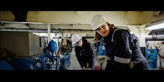 Photographer Thomas Barwick recently collaborated with female maritime engineers to capture an authentic view of real naval architects on the job.