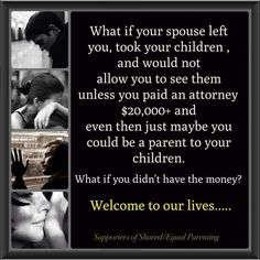Support equal parenting