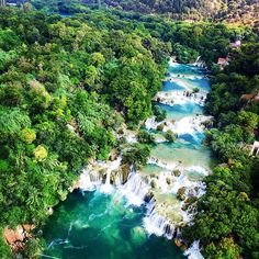 Krka Waterfalls Croatia  #followme #krka #wildhikes #summer #Croatia #krka_waterfalls #waterfalls #blue #clearwater #Drone #world_waterfalls #beautiful_day #mothernature #forest #summer2015 #sun #hrvatska #water #dji #awesome_earthpix #earthpix #nature_seekers #nature_shooters #waterval #scenery #waterfall #bluelagoon by picdrone.nl
