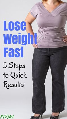Lose weight fast | Diet and weight loss tips | Lose weight quick | Lose weight in a week | http://avocadu.com/how-to-lose-weight-fast/