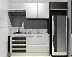 Organização e decoração de cozinha pequena