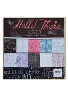 Scrapbook Paper Hello 12″ - Wedding Shop .Africa Wedding Stationary, Wedding Invitations, Scrapbook Paper, South Africa, Shopping, Design, Masquerade Wedding Invitations, Wedding Stationery, Wedding Invitation Cards