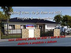 Splňte si sen o bývaní. Projekt 6: RD za 800 €/m2 Inford800@gmail.com +421 908 762 654 Splňte si sen o bývaní. Ideálny dom, to je dom na kľúč v poctivej kval...