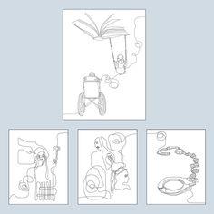 Ilustração e Desenho Arte de Gina Nogueira - DG2 Escritório de Arte