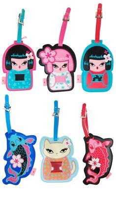 Fluff Kimono Luggage Tags,    #,    #FLL99KIM