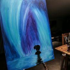 Glow in the Dark Art to appreciate in the dark by Crisco