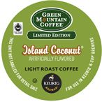 Limited Edition Fair Trade Island Coconut  by Green Mountain K-Cups