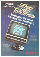 Hitachi Cam-N-Cord Camera, VHS 1985 Ad Picture