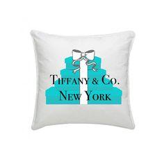 Tiffany & co blue  pillow new york by rebeccagi on Etsy, €33.00