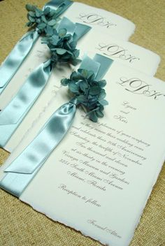 high end wedding invitations box | wedding blue flower hydrangea bat mitzvah elegant high end beautiful ...