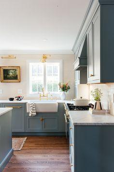 One Room Challenge – Herbst 2019 – The Kitchen Reveal – Erin Kestenbaum – Home Design Kitchen Wall Art, New Kitchen, Kitchen Dining, Kitchen Decor, Kitchen Ideas, Design Kitchen, Kitchen Planning, Awesome Kitchen, Kitchen Modern