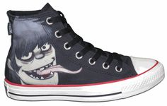 Converse® Gorillaz All Star® Chuck Taylors® Murdoc with Free Shipping