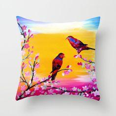 red parrot, red parrots, parrot print, parrot gifts, gifts with birds, red birds, red, birds, lorikeet, lorikeets, prints of birds, 2 birds